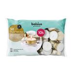 Bolsius professional maxi waxine lichten wit 10 branduren 50 stuks