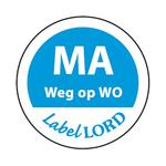 Etiket labellord maandag weg op a500
