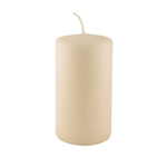 Q-light pillar candle ivoor a15