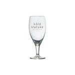 Kald kletske glas