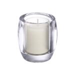 Bolsius theelicht & clear cup houder oval transparant 6 stuks