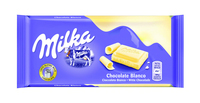 Milka wit flowpack 100 gr