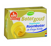 Botergoud roomboter ongezoeten 250 gr