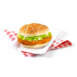 Klassiek crispy spicy filetburger 90 gr