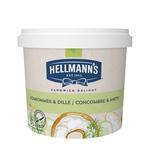 Hellmann's sandwich delight komkommer dille 1.5 kg