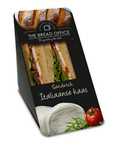 The Bread Office sandwich cardboard italiaase kaas tomatenbrood 147 gr kort houdbaar