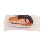 The Bread Office wit puntje kip grillworst 123 gr met zakje oliehoorn mayonaise
