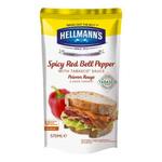 Hellmann's sandwichsaus paprika tobasco zak 570 ml