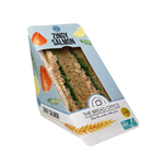The Bread Office luxe sandwich zingy salmon ASC 152 gr kort houdbaar