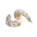 Gamba gepeld 26 tot 30 per kilo