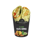 The Bread Office wrap falafel houmous 173 gr lang houdbaar