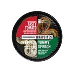 The Bread Office wrapbites tomaat mozzarella / geitenkaas ham 2x3 stuks