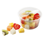 Fruitsalade luxe (fijn) tray 100gr