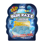 Jawbreaker blue raspberry shape bag 132 gr
