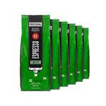 Douwe Egberts espresso koffiebonen medium roast 1 kilo