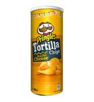 Pringles tortilla chips nacho cheese can 160 gr