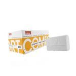 Satino comfort handdoekjes wit 1 laags 20.6 x 24 cm