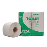 Euro toiletpapier 1lgs recycled naturel 40x400vel