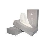 Euro facial tissue cellulose wit 2 laags 21x21 cm 40 x 100 stuks