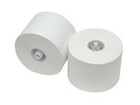 Toiletpapier met dop recycled hoogwit  2 laags  36x100 meter