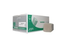 Papieren handdoekjes z-vouw recycled tissue 2 laags 23x25 cm 3800 stuks