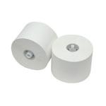 Toiletpapier met dop recycled wit 1 laags 36x150 meter