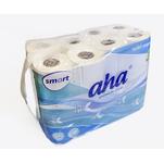 Smart aha premium care toiletpapier cellulose 2 laags rol 140 vel