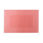 Placemat papier gestreept bordeaux 30x42cm. a500