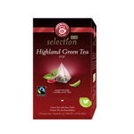 Teekanne luxury cup higland green tea 20 zakjes