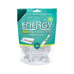Energy+ filtertips menthol 100 stuks