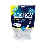 Energy+ clixx filter tips mint zak 100 stuks
