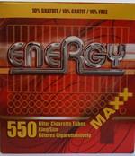 Energy hulzen maxx 550 stuks