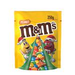 M&m's peanut kerst 250 gr