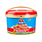 Metten Dicke Sauerlander Bockwurst emmer 25 x 100 gr