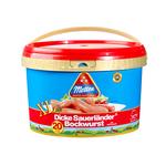 Metten Dicke Sauerlander Bockwurst XL emmer 20 x 125 gr