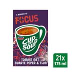 Unox Cup-a-Soup focus tomaat 21 x 175 ml