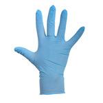 Depa latex handschoenen blauw poeder M 100 stuks