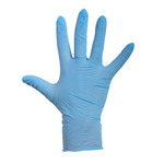 Depa latex handschoenen blauw poeder XL 100 stuks