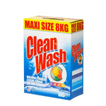 Clean wash waspoeder 8 kilo
