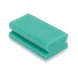 Ecolab schuurspons groen/wit 10 stuks