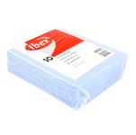 Ibex huishouddoekje blauw 10 stuks