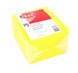 Ibex huishouddoekje geel 25 stuks