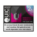 Quic pods virginia tobacco 20 mg 2 stuks