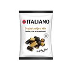 Italiano napolitaanse dropstaafjes zakje 80 gr