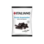 Italiano siciliaanse zachte dropstaafjes zakje 80 gr