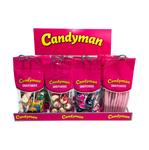 Candyman snoepzakkie pakket + rek