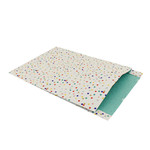 Primera tijdschriftenzakken confetti 25 x 34 cm