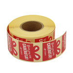 Primera cadeausticker cadeautje 1000 stickers