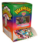 Warheads super sour bubblegum pops