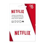 Netflix giftcard 15 euro